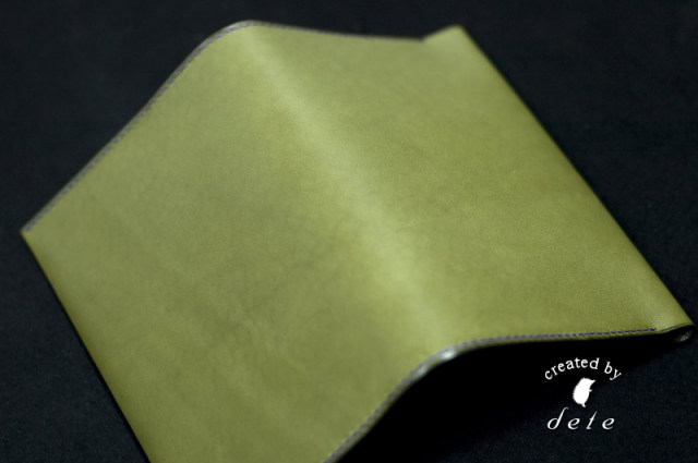 A5判ハードカバー用ブックカバーB [手縫い受注生産]
