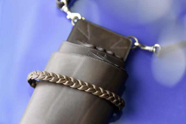 [オーダーメイドギャラリー]シザーケースT-12-7 腰付け7丁トリマー用 メッシュモデル