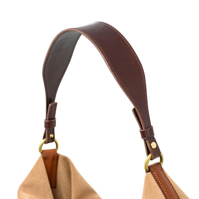 取り替えできる革のハンドバッグハンドル37cm(受注生産)