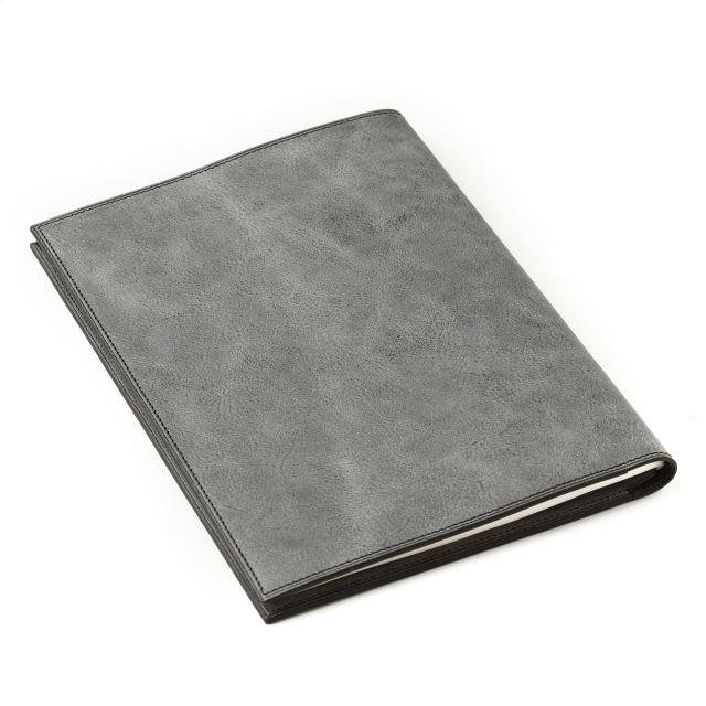 イタリアンレザーを使ったA5サイズのノートカバー