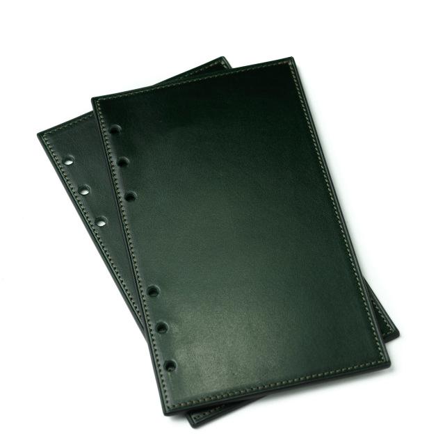 カーフのバイブルサイズシステム手帳リフター グリーン
