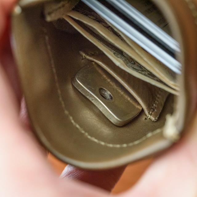 鍵が入るミニ財布