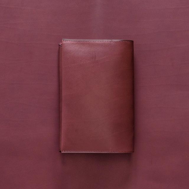 カーフの文庫本ブックカバー