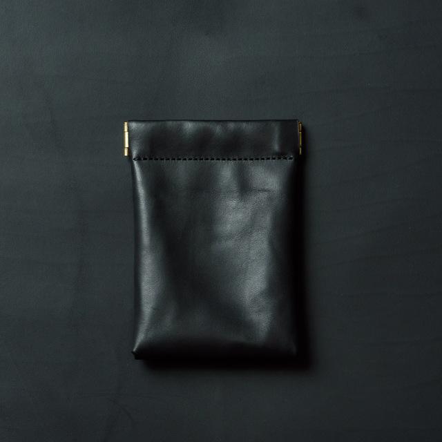 ミニマリスト向けミニ財布 ブラック