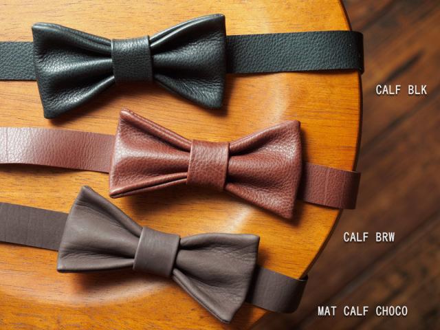 レザー蝶ネクタイ Bow-tie-01