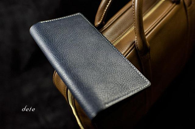 測量野帳カバー イタリア製タンニンなめし革[受注生産品]