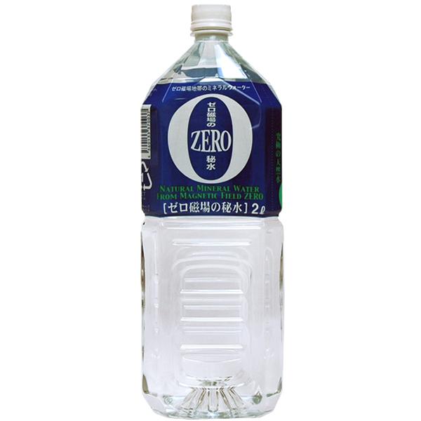 ゼロ磁場の秘水  2L×6本