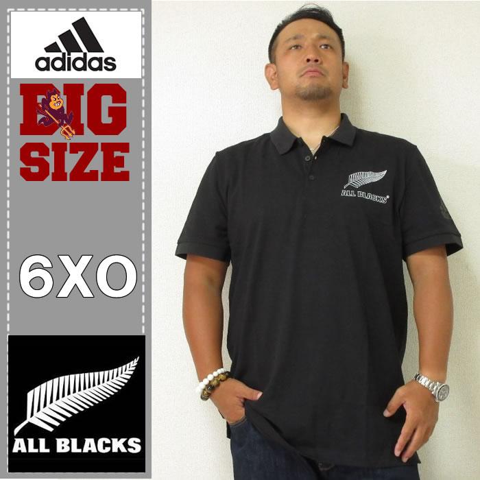 adidas-All Blacks-サポーター半袖ポロシャツ(当店在庫1枚限り)