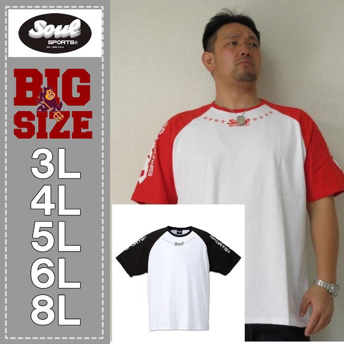 SOUL SPORTS-ラグラン半袖Tシャツ(メーカー取寄)