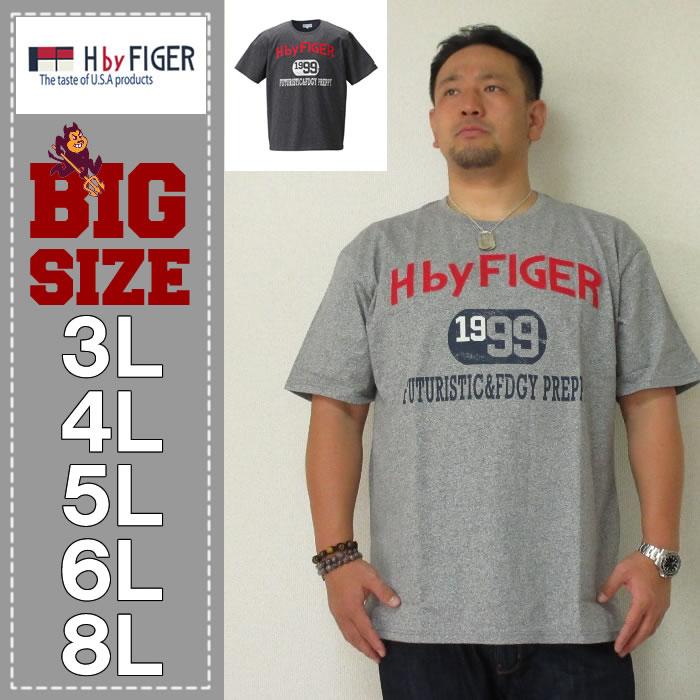 H by FIGER-粗杢天竺半袖Tシャツ(メーカー取寄)