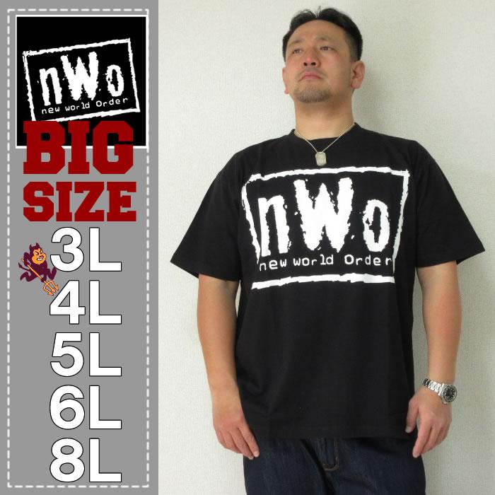 (7/31まで特別送料)W.W.E-nWoロゴ半袖Tシャツ(メーカー取寄)
