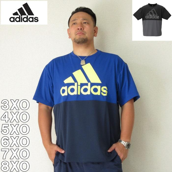 (8/31まで特別送料)adidas-ビッグロゴ半袖Tシャツ(メーカー取寄)adidas(アディダス)