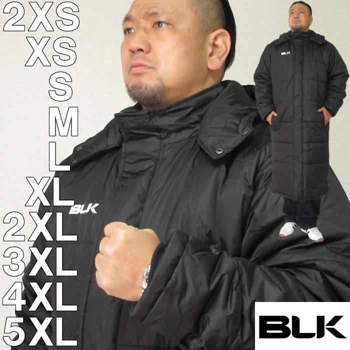 BLK ラグビー フィールドベンチコート(ロングタイプ)(メーカー取寄) 2XS XS S M L XL 2XL 3XL 4XL 5XL