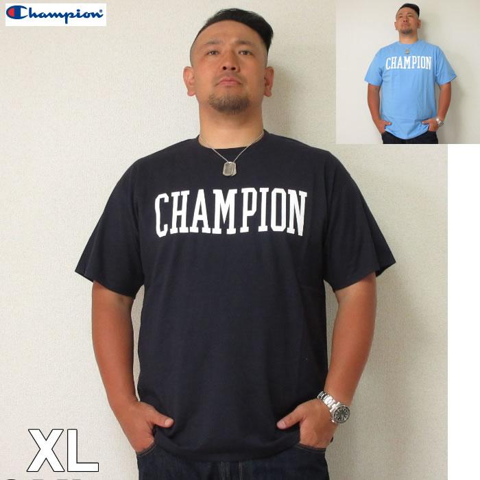 (6/30まで特別送料)Champion (チャンピオン)ロゴ 半袖Tシャツ XL 2XL