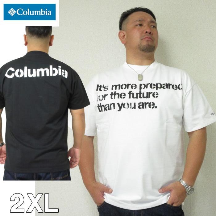 大きいサイズ メンズ Columbia(コロンビア)ビッグイエローメドー 半袖 Tシャツ 2XL
