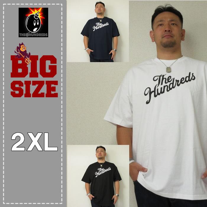 THE HUNDREDS(ザ ハンドレッズ) FOREVER SLANT LOGO TEE<2XL>