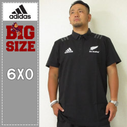 adidas-All Blacks 半袖ポロシャツ(メーカー取寄)