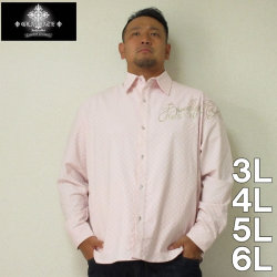 GLADIATE-ブロックジャガード刺繍シャツ(メーカー取寄)