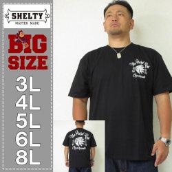 SHELTY-チェーン刺繍+プリント半袖Tシャツ(メーカー取寄)