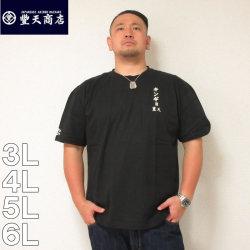 (本州四国九州送料無料)豊天-金魚半袖Tシャツ(メーカー取寄)3L 4L 5L 6L 豊天 ぶうでん ぶーでん 半袖 Tシャツ ぶた 豚