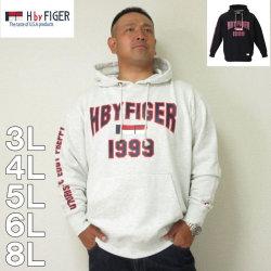 (本州四国九州送料無料)H by FIGER-プル パーカー(メーカー取寄)3L 4L 5L 6L 8L HOOD フード