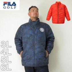 (本州四国九州送料無料)FILA-GOLF-ライトダウンジャケット(メーカー取寄)3L 4L 5L 6L ダウン ジャケット フィラ