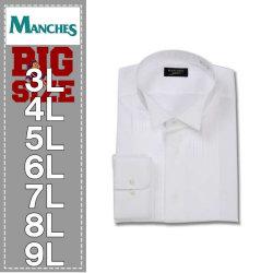 (本州四国九州送料無料)マンチェスコレクション-ウイングカラー長袖シャツ(メーカー取寄)
