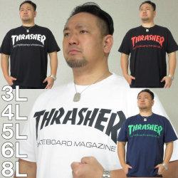 (9/30まで特別送料)THRASHER-半袖Tシャツ(メーカー取寄)