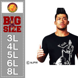 新日本プロレス-SANADA「ME GUSTA」半袖Tシャツ(メーカー取寄)