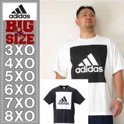 adidas-ビッグスクエアロゴ半袖Tシャツ(メーカー取寄)adidas(アディダス)