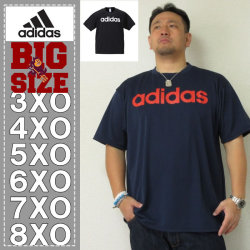 adidas-リニアロゴ半袖Tシャツ(メーカー取寄)adidas(アディダス)