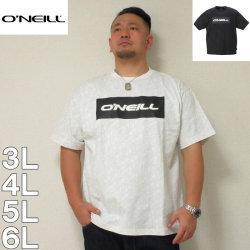 (4/30迄送料値下げ中)O'NEILL-半袖Tシャツ(メーカー取寄)3L 4L 5L 6L オニール 総柄 半袖 Tシャツ サーフ系