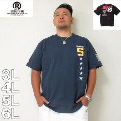 (本州四国九州送料無料)RealBvoice-WATER WARRIOR No.5スター半袖Tシャツ(メーカー取寄)3L 4L 5L 6L リアルビーボイス Tシャツ