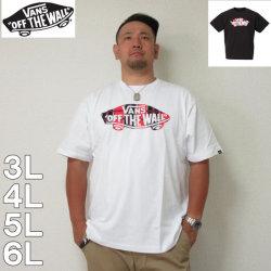 VANS-チェックSK8OTW半袖Tシャツ(メーカー取寄)3L 4L 5L 6L バンズ Tシャツ