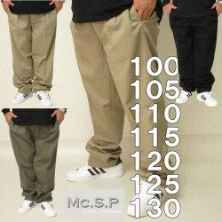 大きいサイズ メンズ Mc.S.P-ソフトチノツータックパンツ(メーカー取寄)97 100 105 110 120 125 130
