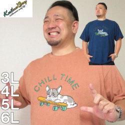 (本州四国九州送料無料)大きいサイズ メンズ kailua Bay-ナノテック加工パイル半袖Tシャツ(メーカー取寄)カイルアベイ/3L/4L/5L/6L