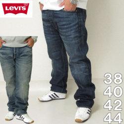 大きいサイズ メンズ Levi's-501 オリジナルフィット デニムパンツ(メーカー取寄)リーバイス 2L 3L 4L 5L 38 40 42 44 ジーンズ