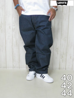 (大きいサイズ メンズ 通販 デビルーズ)LEVIS(リーバイス)501「未洗いデニム」<インディゴ>
