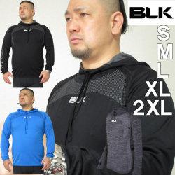 BLK ラグビー モーションニットHOODY(長袖パーカー)(メーカー取寄)S M L XL 2XL アンダーウェア 半袖