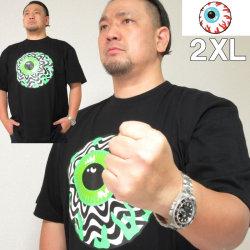 大きいサイズ メンズ MISHKA(ミシカ) OPTIC KEEP WATCH 半袖Tシャツ(当店在庫分)ミシカ 2XL
