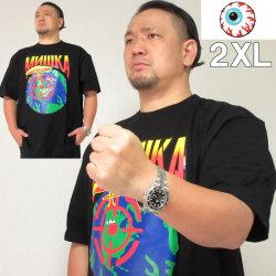 大きいサイズ メンズ MISHKA(ミシカ) NEW WORLD ORDER 半袖Tシャツ(当店在庫分)ミシカ 2XL