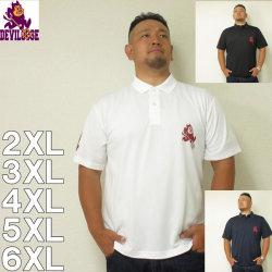 (10/31まで特別送料)デビルーズオリジナル-4.1オンス ドライアスレチック  半袖 ポロシャツ 2XL 3XL 4XL
