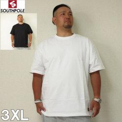 (7/31まで特別送料)SOUTHPOLE(サウスポール)無地 半袖 Tシャツ 3XL サウスポール