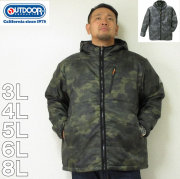 OUTDOOR PRODUCTS-タフタ中綿ジャケット(メーカー取寄)