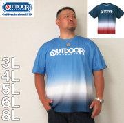 OUTDOOR PRODUCTS-DRY メッシュ 半袖 Tシャツ(メーカー取寄)3L 4L 5L 6L 8L ドライ