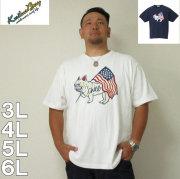 (7/31まで特別送料)kailua Bay-ナノテック加工パイル半袖Tシャツ(メーカー取寄)3L 4L 5L 6L 制菌 パイル