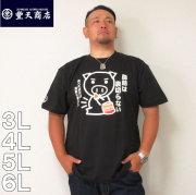 豊天-脂肪は裏切らない 半袖 Tシャツ(メーカー取寄)3L 4L 5L 6L ぶうでん 豊天