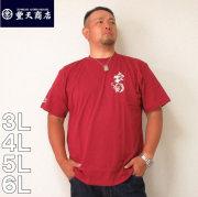 豊天-ぶうでん線香 半袖 Tシャツ(メーカー取寄)3L 4L 5L 6L ぶうでん 豊天