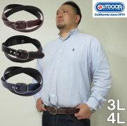 大きいサイズ メンズ OUTDOOR PRODUCTSトライバル柄型押しベルト(メーカー取寄)合成皮革 ウェスト140cmまで適応 ウェスト150cmまで適応