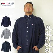 H by FIGER-長袖B.Dネルシャツ(メーカー取寄)